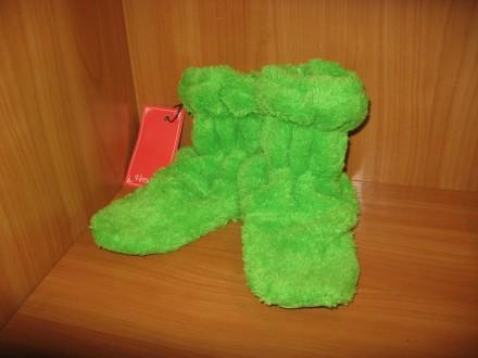 Домашние махровые сапожки детские. Ткань: турецкая махра. Производство Украина.. Черкассы, Черкасская область. фото 5