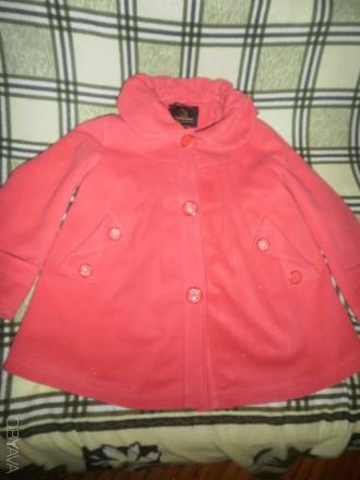 Продам пальто демисезонное на девочку р116-122(6-7 лет). Харьков. фото 1