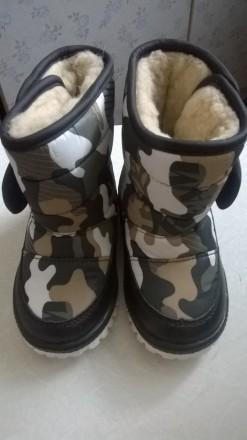 Зимние детские ботинки. Харьков. фото 1