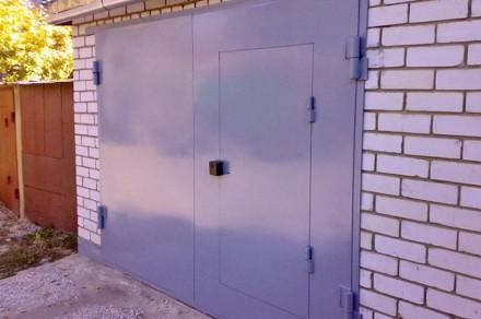 Ворота для гаража,ворота в гараж. Кривой Рог. фото 1