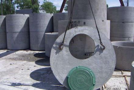 Бетонные кольца с доставкой. Кривой Рог. фото 1