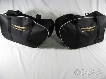 Продаются сумки в кофры Honda Goldwing, две боковые и одна верхняя,возможна прод. Запорожье, Запорожская область. фото 1