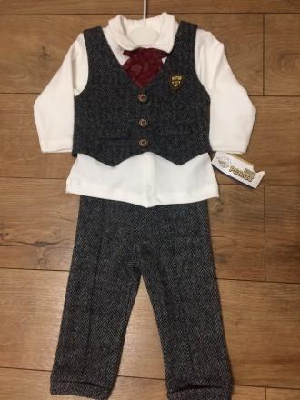 Новий костюм  трійка на хлопчика. Киев. фото 1