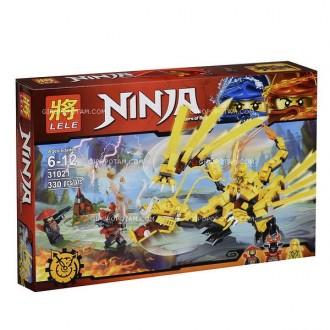 Конструктор LELE 31021 Ninja
