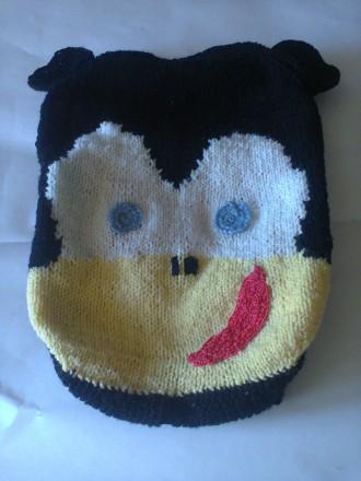 Продаю детский вязаный рюкзачок. Николаев. фото 1