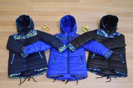 Новые Куртки для мальчика демисезонные размеры 98р.-140р.. Чернигов. фото 1