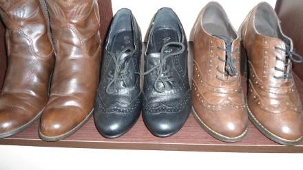 обувь 36-го размера,из натуральной кожи,без каких-либо дефектов.Цена указана за . Борщев, Тернопольская область. фото 4