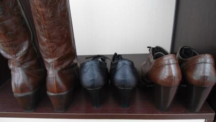 обувь 36-го размера,из натуральной кожи,без каких-либо дефектов.Цена указана за . Борщев, Тернопольская область. фото 3