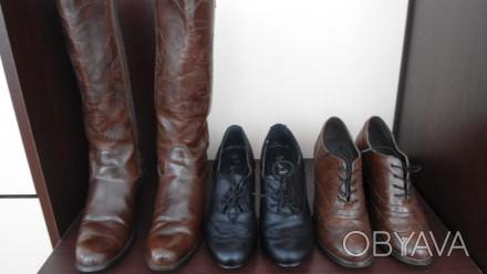 обувь 36-го размера,из натуральной кожи,без каких-либо дефектов.Цена указана за . Борщев, Тернопольская область. фото 1