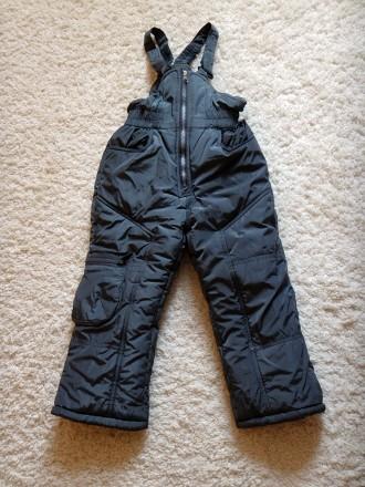Комплект для хлопчика - тепла зимова куртка + штани-комбінезон.  Практично в і. Прилуки, Черниговская область. фото 4