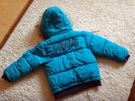 Комплект для хлопчика - тепла зимова куртка + штани-комбінезон.  Практично в і. Прилуки, Черниговская область. фото 3