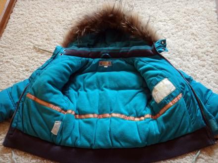 Комплект для хлопчика - тепла зимова куртка + штани-комбінезон.  Практично в і. Прилуки, Черниговская область. фото 6