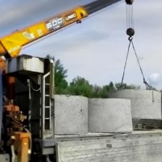 Предлагаем вам бетонные кольца,крышки,днища для колодца.Также установим и достав. Кривой Рог, Днепропетровская область. фото 3