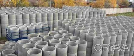 Предлагаем вам бетонные кольца,крышки,днища для колодца.Также установим и достав. Кривой Рог, Днепропетровская область. фото 1
