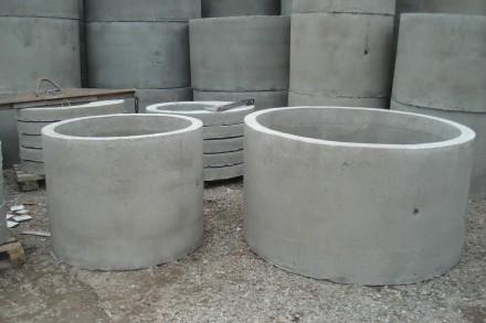 Строительство септика,сливной ямы из бетонных колец. Кривой Рог. фото 1