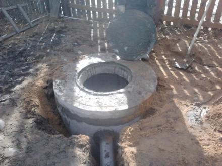Предлагаем вам бетонные кольца,крышки,днища для колодца,сливных ям,септиков.Такж. Кривой Рог, Днепропетровская область. фото 3