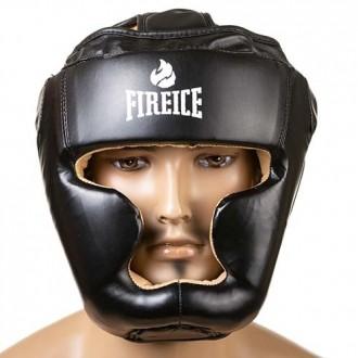 Шлем боксерский  Тип: боевой, full face Материал: flex, экокожа Цвет: черный,. Одесса, Одесская область. фото 2