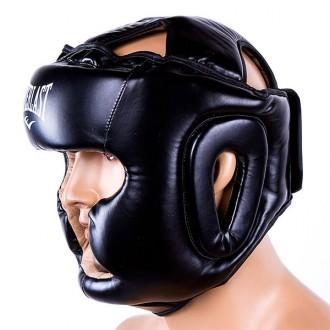 Шлем боксерский  Тип: боевой, full face Материал: flex, экокожа Цвет: черный,. Одесса, Одесская область. фото 6