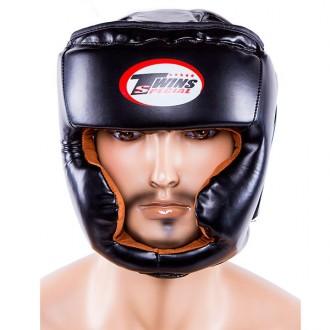 Шлем боксерский  Тип: боевой, full face Материал: flex, экокожа Цвет: черный,. Одесса, Одесская область. фото 8