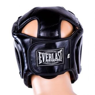 Шлем боксерский  Тип: боевой, full face Материал: flex, экокожа Цвет: черный,. Одесса, Одесская область. фото 7