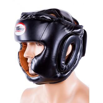Шлем боксерский  Тип: боевой, full face Материал: flex, экокожа Цвет: черный,. Одесса, Одесская область. фото 9