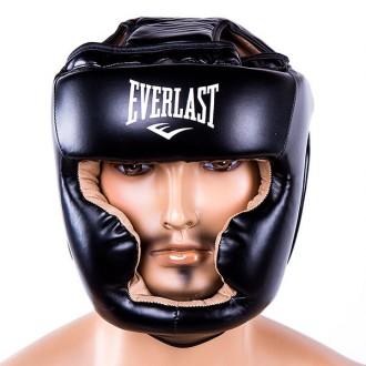 Шлем боксерский  Тип: боевой, full face Материал: flex, экокожа Цвет: черный,. Одесса, Одесская область. фото 5