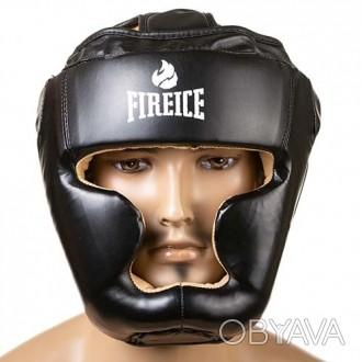 Шлем боксерский  Тип: боевой, full face Материал: flex, экокожа Цвет: черный,. Одесса, Одесская область. фото 1