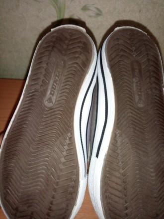Кеды Dunlop, красивого серого цвета, подойдут и мальчику и девочке, размер 24, с. Киев, Киевская область. фото 6