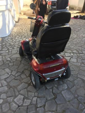 Электрический скутер для пожилых людей, инвалидов отличное состояние минимальный. Киев, Киевская область. фото 4
