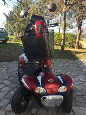Электрический скутер для пожилых людей, инвалидов отличное состояние минимальный. Киев, Киевская область. фото 5