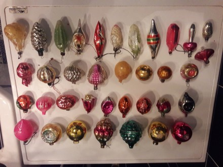 Ялинкові іграшки (СРСР) , 36 шт., 3 шт. зі сколами.. Киев, Киевская область. фото 2