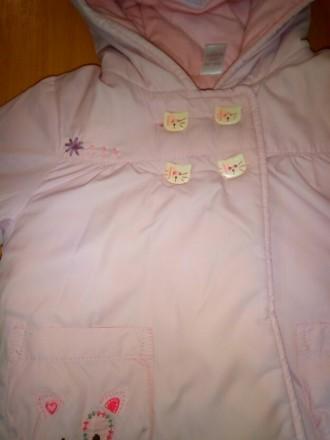 Суперская оригинальная курточка Next, на малышку 3-6 месяцев, демисезонная, на т. Киев, Киевская область. фото 4