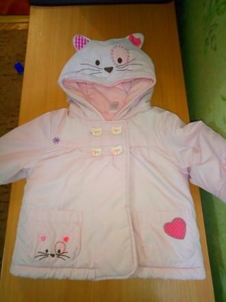 Суперская оригинальная курточка Next, на малышку 3-6 месяцев, демисезонная, на т. Киев, Киевская область. фото 2