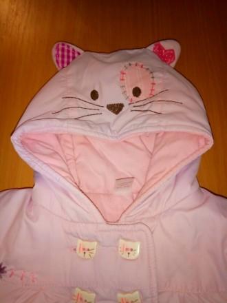 Суперская оригинальная курточка Next, на малышку 3-6 месяцев, демисезонная, на т. Киев, Киевская область. фото 3