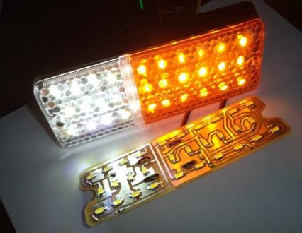 ED (светодиодные)-модули для установки в подфарники вместо лампочек накаливания . Харьков, Харьковская область. фото 2