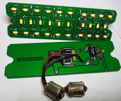 ED (светодиодные)-модули для установки в подфарники вместо лампочек накаливания . Харьков, Харьковская область. фото 4