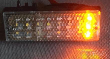 LED (светодиодные) вставки в подфарник (габарит+поворот) для ВАЗ-2103 / ВАЗ-2106. Харьков, Харьковская область. фото 4