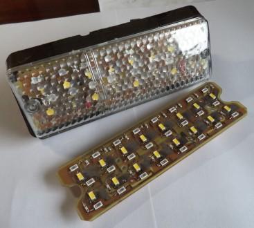 LED (светодиодные) вставки в подфарник (габарит+поворот) для ВАЗ-2103 / ВАЗ-2106. Харьков, Харьковская область. фото 3