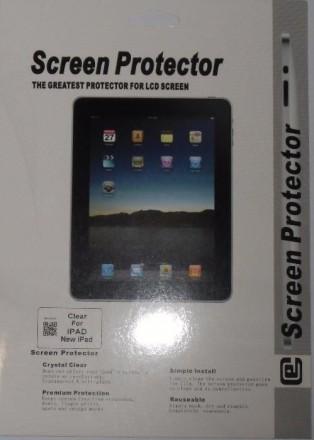 Продам новые глянцевые защитные пленки для таких моделей как Apple iPad 1/ iPad . Кременчуг, Полтавская область. фото 6