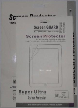 Глянцевые пленки на экран планшета iPad 1 2 3 4 и iPad mini 2 Retina 3. Кременчуг. фото 1