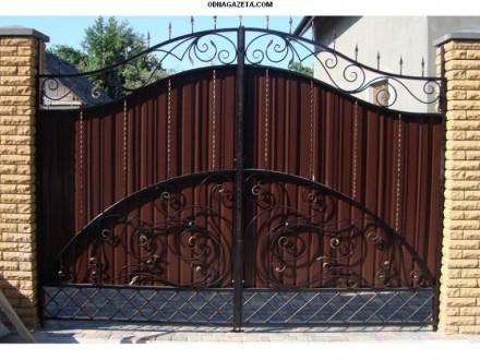 Металлоизделия,ворота,заборы,калитки,решетки. Кривой Рог. фото 1