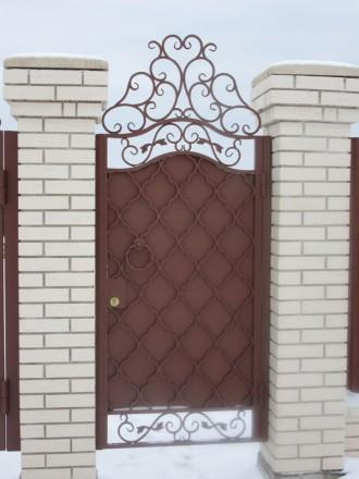 Предприятие изготовит металлоконструкции: -Ворота; -калитки -решетки -двери. Кривой Рог, Днепропетровская область. фото 3