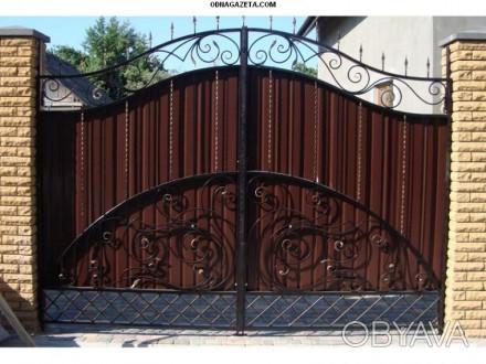 Предприятие изготовит металлоконструкции: -Ворота; -калитки -решетки -двери. Кривой Рог, Днепропетровская область. фото 1
