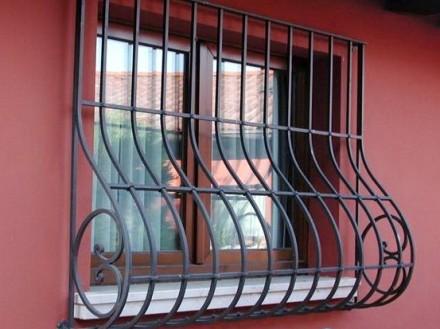 Наше предприятие изготовит любые решетки на окно под ваш размер.Выезд мастера на. Кривой Рог, Днепропетровская область. фото 3