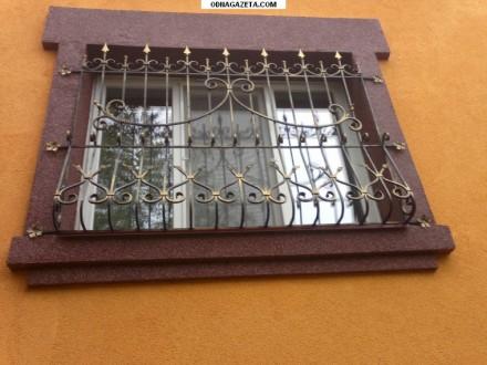 Наше предприятие изготовит любые решетки на окно под ваш размер.Выезд мастера на. Кривой Рог, Днепропетровская область. фото 5