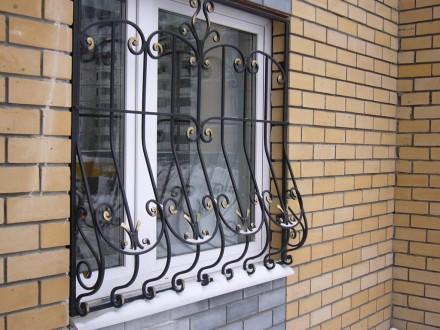 Наше предприятие изготовит любые решетки на окно под ваш размер.Выезд мастера на. Кривой Рог, Днепропетровская область. фото 6