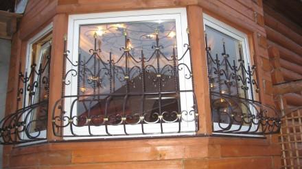 Наше предприятие изготовит любые решетки на окна и балкон под ваш размер.Выезд м. Кривой Рог, Днепропетровская область. фото 2