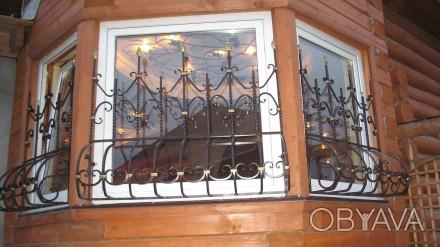 Наше предприятие изготовит любые решетки на окна и балкон под ваш размер.Выезд м. Кривой Рог, Днепропетровская область. фото 1