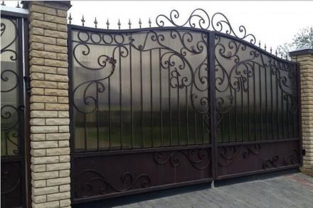 Недорогие ворота,калитки. Кривой Рог. фото 1