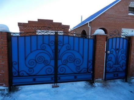 Ворота,калитки с элементами ковки,Кривой Рог. Кривой Рог. фото 1